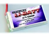 LiPo-Batt 2/1-1250P-M6 15C