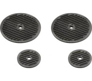 Disques de base fixation velcro 2x25mm/2x45mm