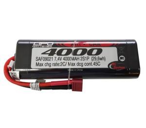 Lipo 2S 7.4V 4000mAh 45C Hardcase