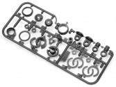Set 4 amortisseurs hydrauliques HPI - Nitro RS4