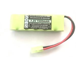 Batterie NIMH 7.2V 1500mAh NEON