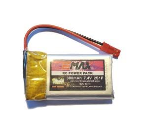 Batterie lipo 7,4V 300mAh