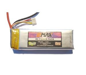 Batterie lipo 11,1V 1300mAh