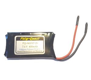 Batterie lipo 7,4V 400mAh