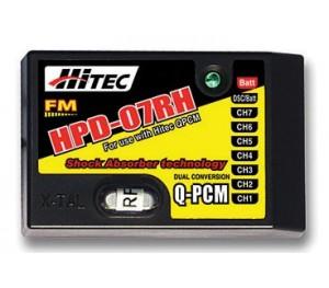 Récepteur 7 voies  QPCM/FM 41MHz DC