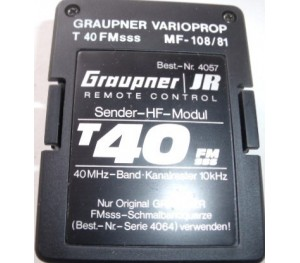 Module émission 40 Mhz FM SSS Graupner