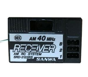 Récepteur 2 voies Sanwa 40 AM