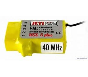 Récepteur 5 voies Rex 5 Plus - Jeti