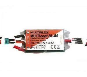 CONTROLEUR BRUSHLESS MULTICONT BL 54 - MULTIPLEX