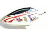 Bulle montée et décorée Mini Titan E325 Thunder Tiger