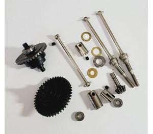 Kit 4x4 SHAFT 1/10 Thermique