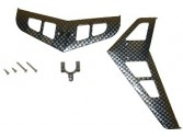 SET EMPENNAGE CARBON