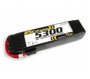 LiPo 22,2V 5300 mAh XP 25C