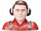 Figure de pilote 1/3 civil rouge