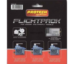 FLIGHTPACK 41Mhz 6CH + 3X B170