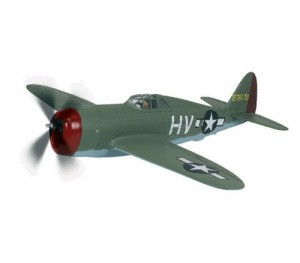 P-47D THUNDERBOLT + moteur OBL brushless