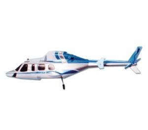 Fuselage Bell 430 bleu