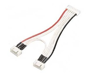 "Cable equaliser "" Y "" 2x lipo 3S JST"
