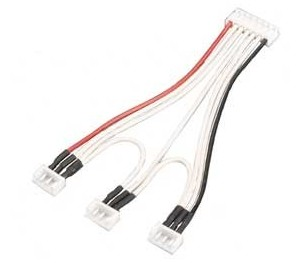 """Cable equaliser """" Y """" 3x lipo 2S"""