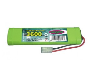 Pack Nimh 9,6v 3600 mAh