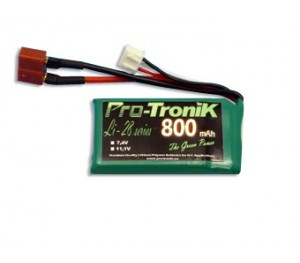 Lipo 800 mAh 2S 35C Black Lithium