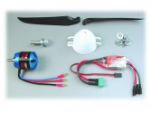 Motorisation brushless EasyGlider Pro Tuning