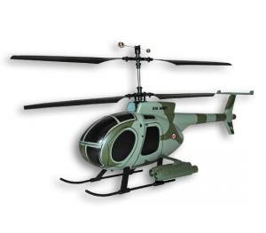 Hughes 500 vert/gris