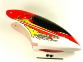 RC3407-20R Bulle rouge/blanc Easycopter XS