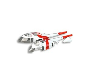 PV1070 Fuselage MD530 Rouge Innovator