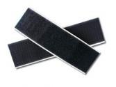 Velcro autocollant noir 50 mm