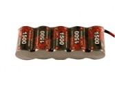 Pack S 6.0V 1500 Rx BEC