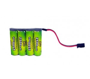 Pack accus Rx 4.8v 2500 mAh A2Pro
