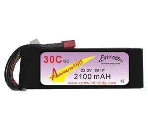Lipo 6S 2100 mAh 30C/3C