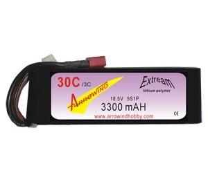 Lipo 5S 3300 mAh 30C/3C