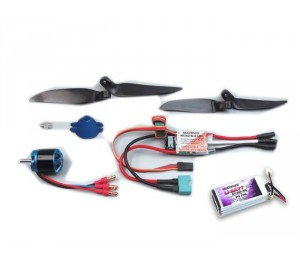 Set de propulsion Merlin TUNING + pack lipo