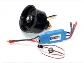 Combo turbine 64 mm/brushless