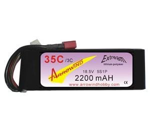 Lipo 5S 2200 mAh 35C/3C