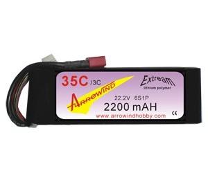 Lipo 6S 2200 mAh 35C/3C