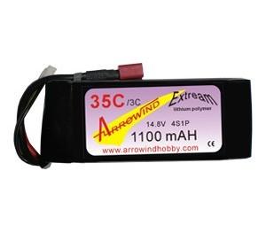 Lipo 4S 1100 mAh 35C/3C Arrowind