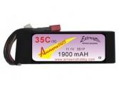 Lipo 3S 1900 mAh 35C/3C Arrowind
