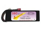 Lipo 4S 1900 mAh 35C/3C Arrowind
