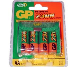 Accu rechargeable Nimh AA 2100mAh 1,2V GP