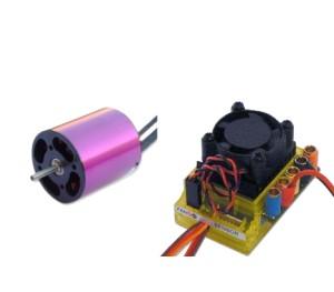 Brushless kit car power