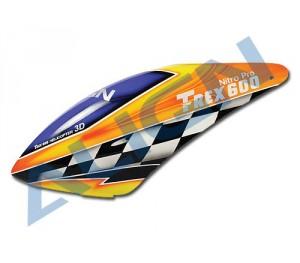 HC6101 Bulle fibre de verre peinte T-Rex 600N