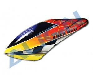 HC6104 Bulle fibre de verre peinte T-Rex 600N