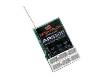 Récepteur Spektrum AR6300 DSM2 NanoLight 6 voies