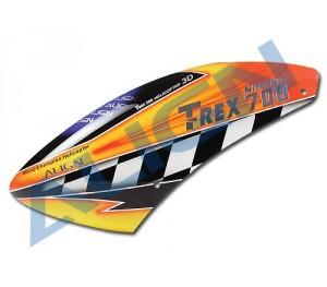 HC7010 Cabine Fibre de verre peinte T-Rex 700N Pro
