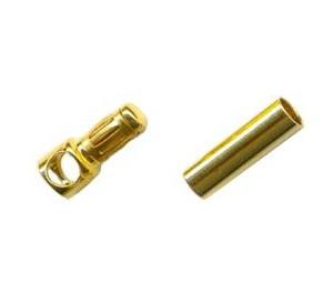 Paire de fiches PK or 3,5mm