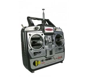 Radiocommande 6 voies Héli mode 1