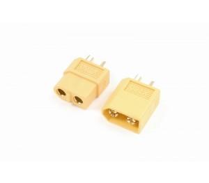 G-FORCE - Connecteurs OR XT60 M+F (x4)